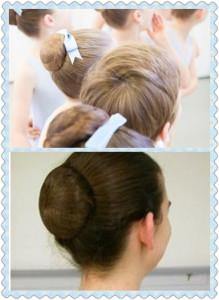 classical ballet bun